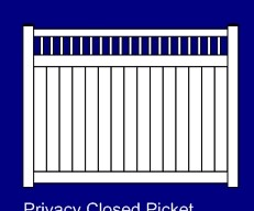 Closed Top Privacy